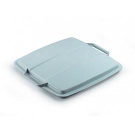 DURABLE Tapas contenedores Durabin 90L 45x555x525 Gris Asas Para Durabin 90L 1800475050