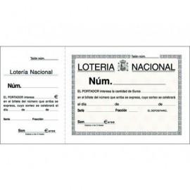MARINO Talonario Loteria 210X105 mm Original Apaisado 4092