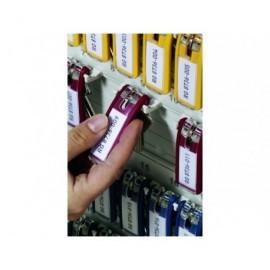 DURABLE Llaveros Key Clip Pack 6ud Rojo 1957-03