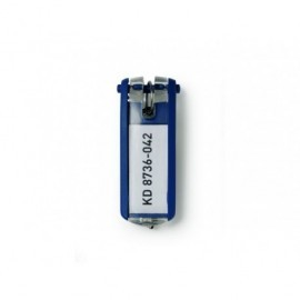 DURABLE Portallaves Llaveros Key Clip   Aptos para  KeyBox 6u Azul 1957-07