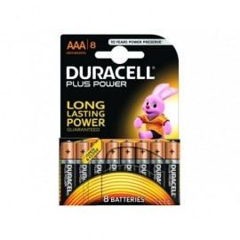 DURACELL Pilas Alcalinas  Plus Power Pack 8 ud AAA LR03 394018549