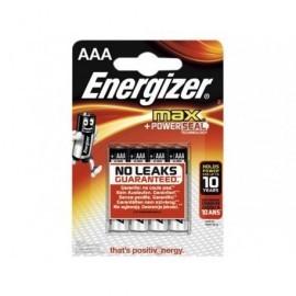 ENERGIZER Pilas alcalinas ultra plus + Pack 4 u AAA LR03 636024