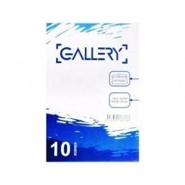 GALLERY Pack de 10 sobres 120x176 offset blanco 90 gr. tira silicona apertura fácil05/08950M