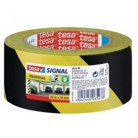 TESA Cintas  Señalizacion Negro/amarillo Polipropileno