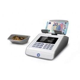 SAFESCAN Contador de billetes y monedas 6185 Pesa y cuenta  220/pilas 230x140x110 131-0457