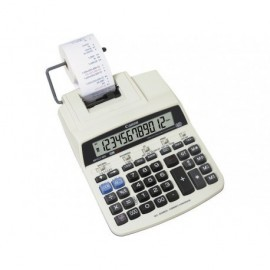 CANON Calculadora sobremesa impresion MP121-MG 12 digitos Adaptador y pilas 2657B001