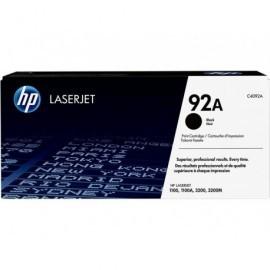HP Toner Laser 92A Negro  C4092A