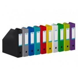ELBA Caja10revistero Elba ColorplegableA4 Lomo 70 mm Negro400081699