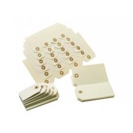 Etiquetas con arandela Cajas de 1000 u. 80x160 01182