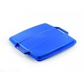 DURABLE Tapas contenedores Durabin 90L 45x555x525mm Azul Para Durabin 1800475040