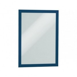 DURABLE Marco autoadhesivo Magaframe Pack 2 Ud A4 Azul 4872-07