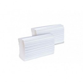 BUNZL Toallas secamanos Z Pack 24 ud 22x21cm 1 capa reciclada 15831
