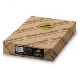 LETTURA Papel reciclado 100% multifunción 500h 80 g. A4 49888