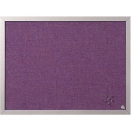 BI-OFFICE Tablero Tapizado Soft 45x60cm Lavanda FB0469608