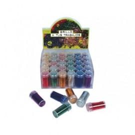 EON PAPER Expositor Purpurina 36ud Colores surtidos Tapón dosificador 59063