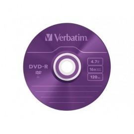 VERBATIM DVD-R Advanced AZO slim pack 5 ud 16x 4,7GB 120 min 43557