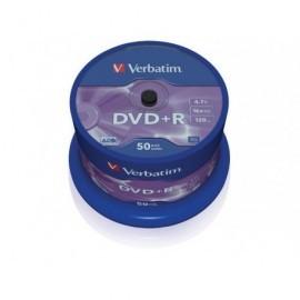 VERBATIM DVD+R Advanced AZO bobina pack 50 ud 16x 4,7GB 120 min 43550