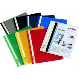 DURABLE Dossiers Duraplus A4 Fastener metalico Amarillo PVC 2579-04