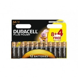 DURACELL Pilas Alcalinas Plus Power Pack 12 u AA LR06 394018167