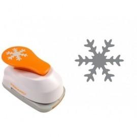 FISKARS Perforadora a presion Copo de nieve Decorativa 1004642