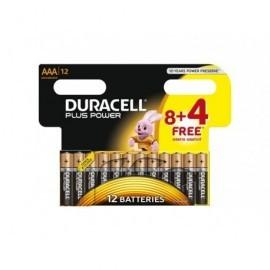 DURACELL Pilas Alcalinas Pack 12 u AAA LR03 12 u 394018938