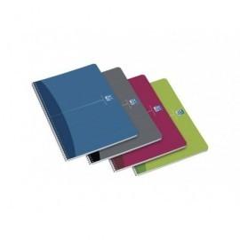 OXFORD Cuaderno Office 80h 4º cuadrícula 4x4 Surtido 100430139
