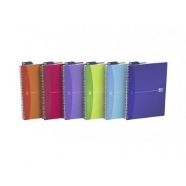 OXFORD Cuaderno My Colours 90h A6 Cuadricula 5x5 Surtido 100102323