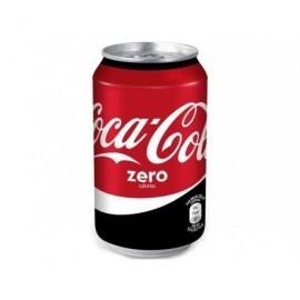 COCA-COLA Refrescos Coca cola Zero Lata 33 cl 2621