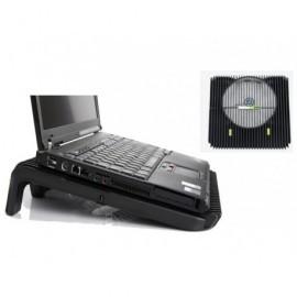 FELLOWES Soporte para portátil 17'' MaxiCool con ventilador XL negro 8018901