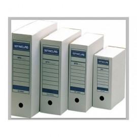 DEFINICLAS Archivador definit. Definiclas Doble folio 367 x 251 x 200 Blanco Carton microcanal 96550