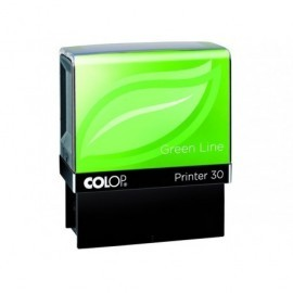 COLOP Sello Green Line Printer 30 18x47 MM NEGRO 5 Lineas PRINTER 30 GL