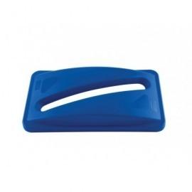 RUBBERMAID Tapas contenedores Slim Jim Azul Para Slim Jim FG270388BLUE