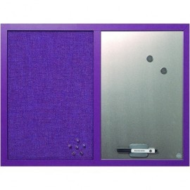 BI-OFFICE Tablero Tapizado 45x60 cm lavanda MX04330608