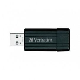 VERBATIM Memoria USB 2.0 Store 'n' Go PinStripe 16 GB negro 49063
