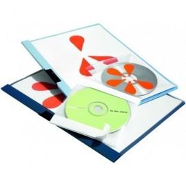 DURABLE Fundas Pocketfix Paquete 10 ud Transparente Para CD 492245