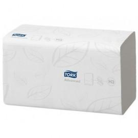 TORK Recambio toallas Pack 15 u 230 x 250 mm 250 servicios 2 capas Para H3 System 290163