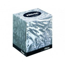 KIMBERLY-CLARK Pañuelos faciales Kleenex Cubo 90 servicios 8834