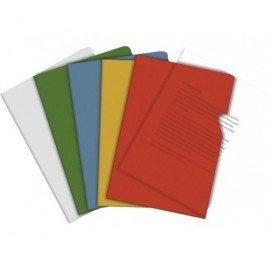 5* Dossier Caja 100 ud Folio Pvc Con uñero Transparente 150 micras 72200-SPICER