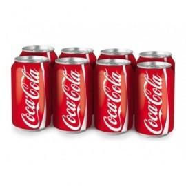 COCA-COLA Refrescos Cocacola Lata 33 cl 80