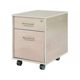 ROCADA Bucks Serie Store 1 caj.+1 caj. Carpetas colgantes Melamina 43x59x58cm Haya-Haya 4004AA01