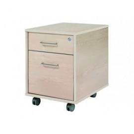 ROCADA Bucks Serie Store 4 cajones Melamina y PVC 60x50x72cm Gris-Gris 4005AB02