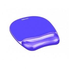 FELLOWES Reposamuñecas para el ratón de gel Crystal violeta 91441
