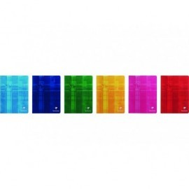 CLAIREFONTAINE Libreta grapada 40h 4º cuadrícula 4x4 Surtido 37244C