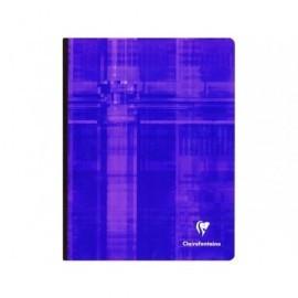 CLAIREFONTAINE Libreta cosida 96h 4º cuadrícula 5x5 Surtido 9742C