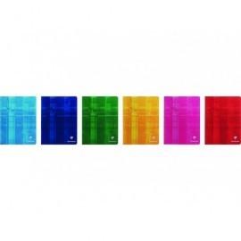 CLAIREFONTAINE Libreta grapada 48h 4º cuadrícula 5x5 Surtido 3742C