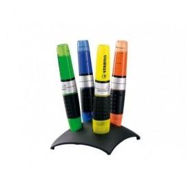 STABILO Marcador fluorescente Luminator Estuche 4 ud Trazo 2-5mm Punta biselada 7104-02