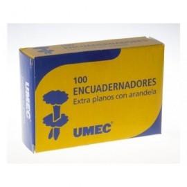 UMEC Encuadernadores con Arandela Caja 100 Ud 18 mm U300901