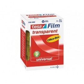 TESA Cinta  Adhesiva 19mmX66m Alta transparencia Uso universal  57406-00002-00