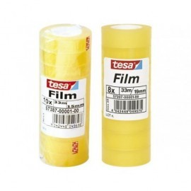 TESA Cinta  Adhesiva 15mmX33m Se corta facilmente  57387-00001-00