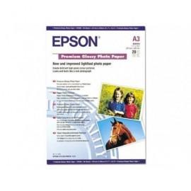 EPSON Papel fotografico C13SO41315 Paquete 20 hojas A3 Brillo C13S041315